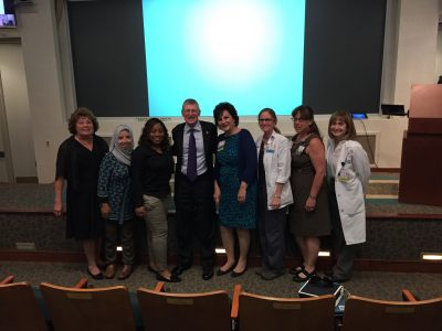 Drs Bob Hess and consults with a powerhouse of nurses involved in shared governance at Bassett Medical Center in Upstate New York.